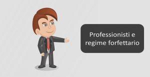 professionisti e regime forfettario