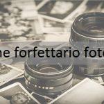 Regime forfettario fotografo